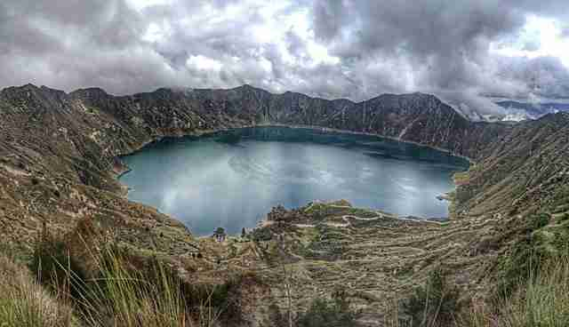 Guilotoa Lagoon Best Day Trips from Guayaquil
