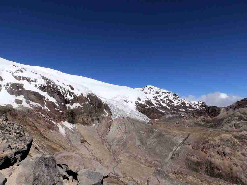 Cayambe Ecological Reserve Volcano Ecuador