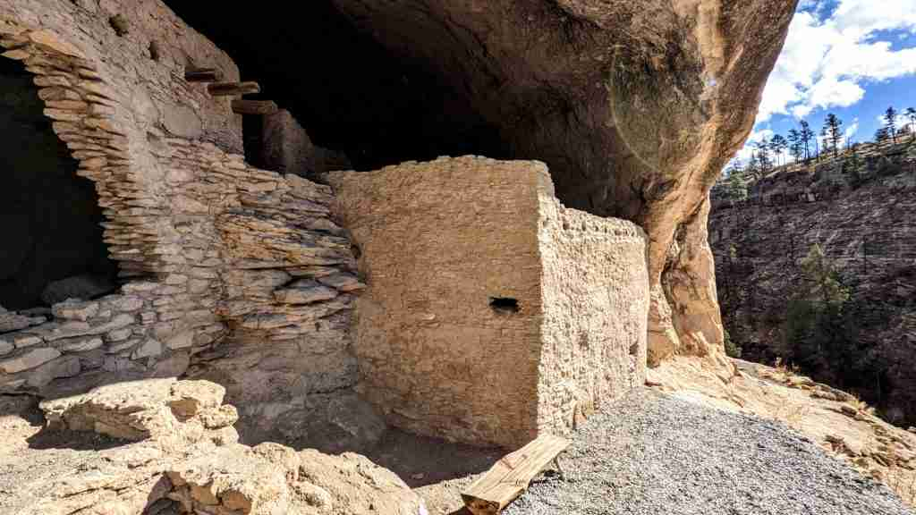 Gila Cliff Dwellings Most Beautiful Places New Mexico