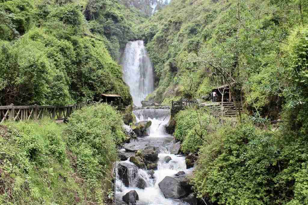 Peguche Waterfall Quito Day Trips