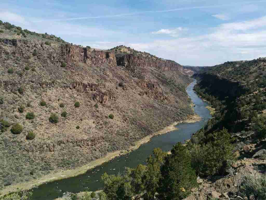 Rio Grande Gorge Drive New Mexico Most Beautiful Places