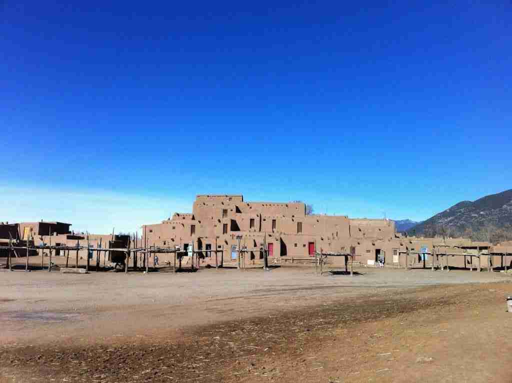 Taos Pueblo Most Beautiful Places in New Mexico