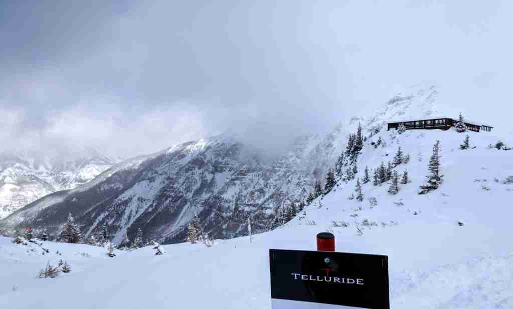 Telluride best place to ski in Colorado