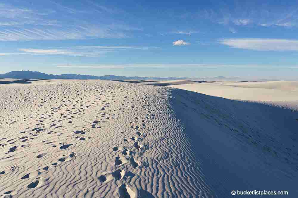 White Sands Dunes National Park Best Things to Do New Mexico